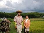 すてきな八木さん農園のホストさん達。すばらしい方々です。Yagisan Farm's awesome (and stylish) owners. They were excellent hosts and bosses as well!